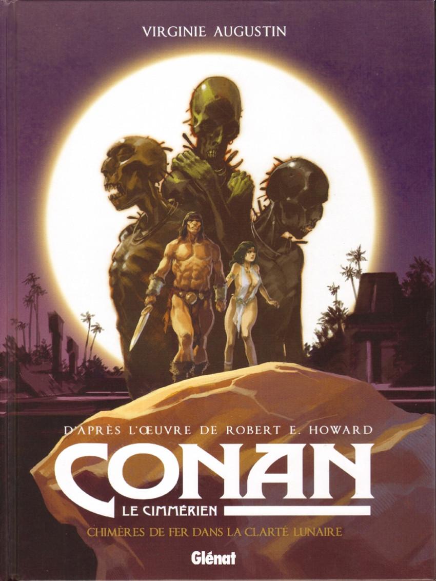 Couverture de Conan le Cimmérien -6- Chimères de fer dans la clarté lunaire