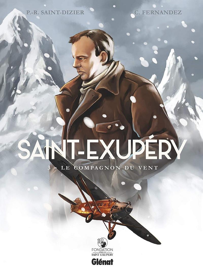 Couverture de Saint-Exupéry (Fernandez) -3- Le compagnon du vent