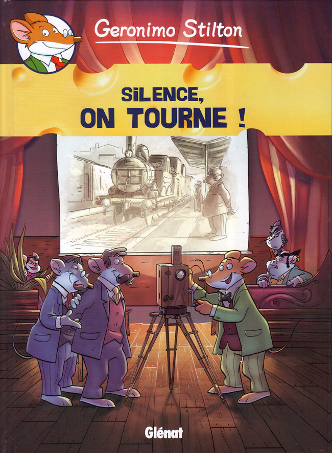 Couverture de Geronimo Stilton -16- Silence, on tourne !