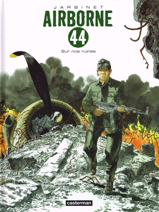 Couverture de Airborne 44 -8- Sur nos ruines