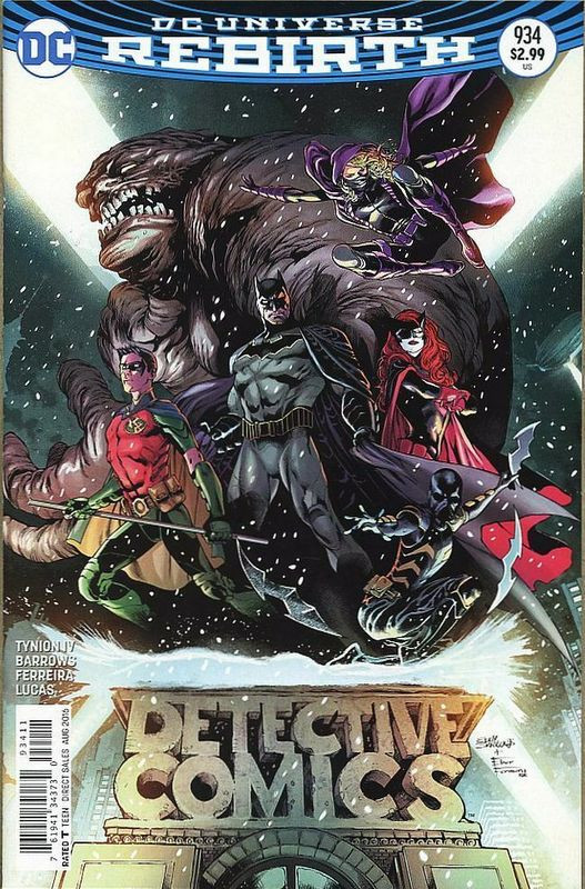 Couverture de Detective Comics (1937), période Rebirth (2016) -934- Rise of the Batmen Part 1: The Young and the Brave