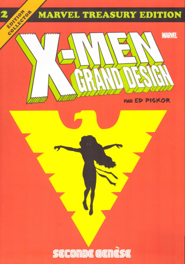 Couverture de X-Men : Grand Design -2- Seconde genèse