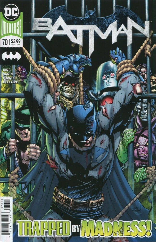 Couverture de Batman (DC Comics - 2016) -70- The Fall and the Fallen, Part One