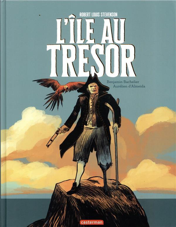 Couverture de L'Île au trésor (Almeida/Bachelier) - L'île au trésor