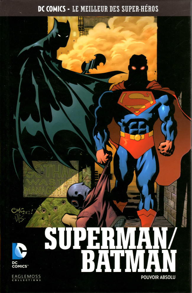 Couverture de DC Comics - Le Meilleur des Super-Héros -96- Pouvoir Absolu