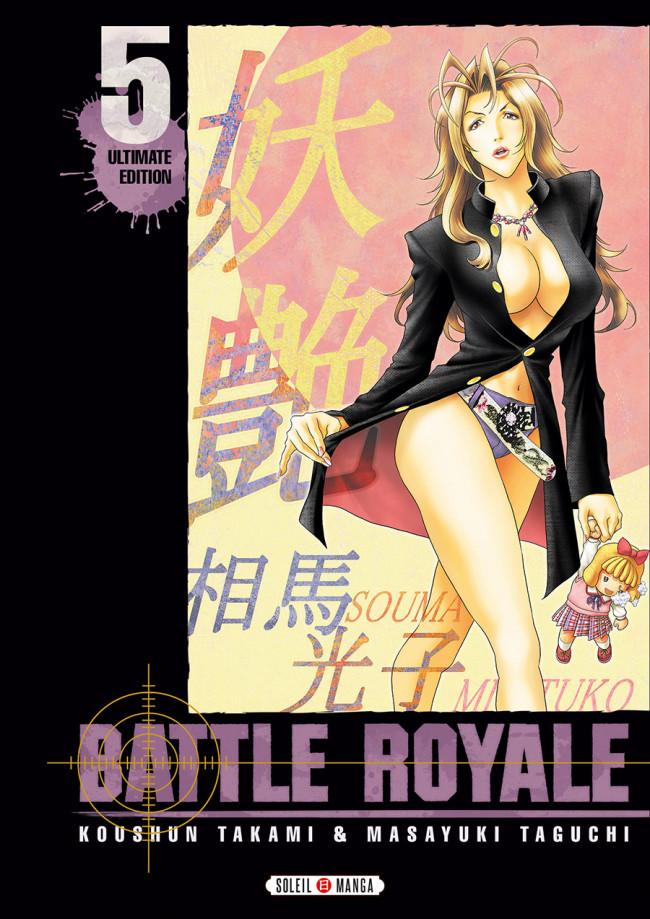 Couverture de Battle Royale -INT5- Volume 5 - Ultimate Edition