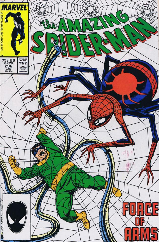 Couverture de The amazing Spider-Man Vol.1 (Marvel comics - 1963) -296- Force of Arms