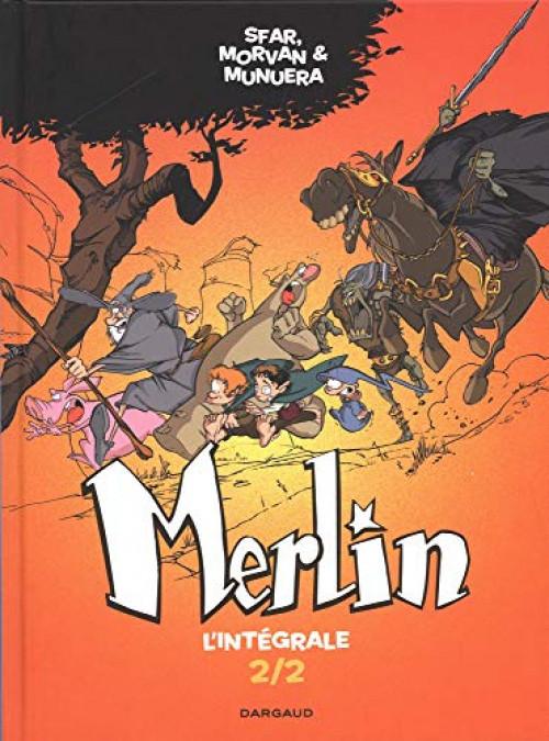 Couverture de Merlin (Munuera) -INT02- Intégrale