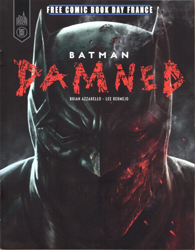 Couverture de Free Comic Book Day 2019 (France) - Batman - Damned