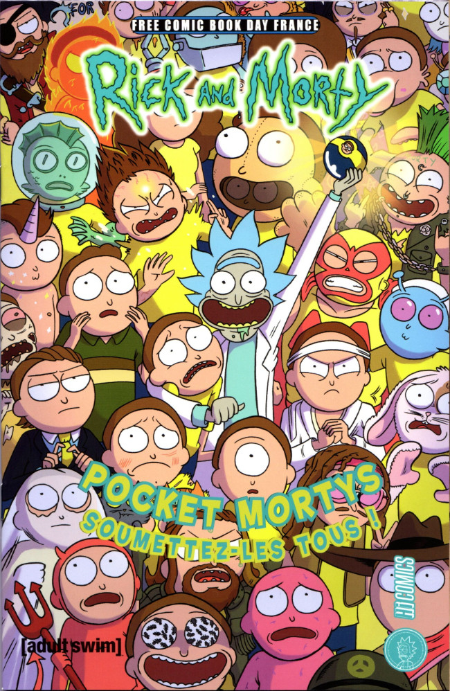 Couverture de Free Comic Book Day 2019 (France) - Rick and Morty