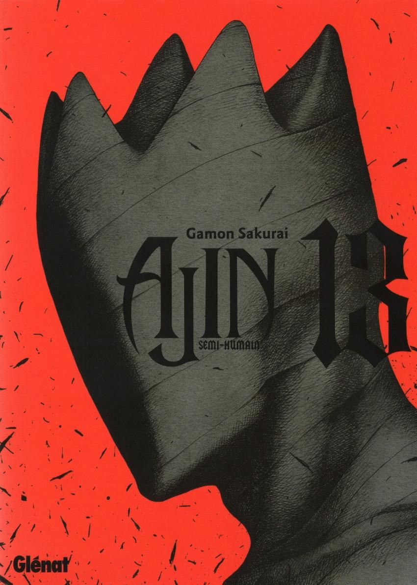 Couverture de Ajin : Semi-Humain -13- Tome 13