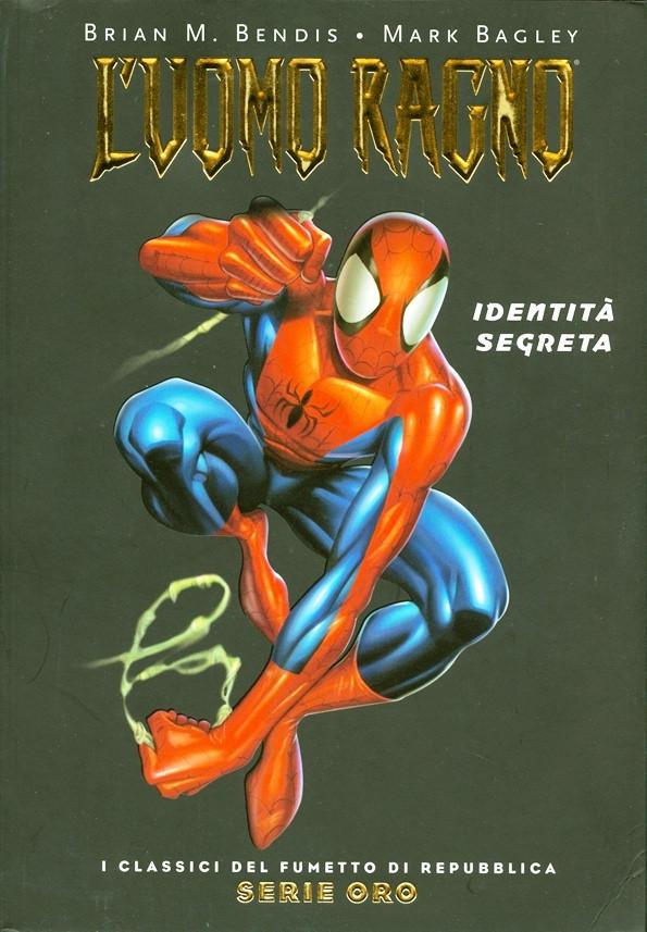 Couverture de Classici del Fumetto di Repubblica (I) - Serie Oro -1- L'uomo ragno