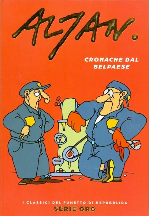 Couverture de Classici del Fumetto di Repubblica (I) - Serie Oro -29- Altan - cronache dal bel paese