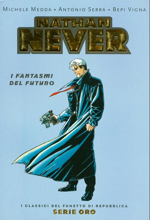 Couverture de Classici del Fumetto di Repubblica (I) - Serie Oro -33- Nathan never