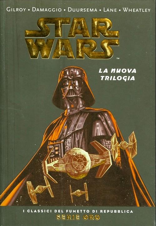 Couverture de Classici del Fumetto di Repubblica (I) - Serie Oro -35- Star Wars - La nuova trilogia
