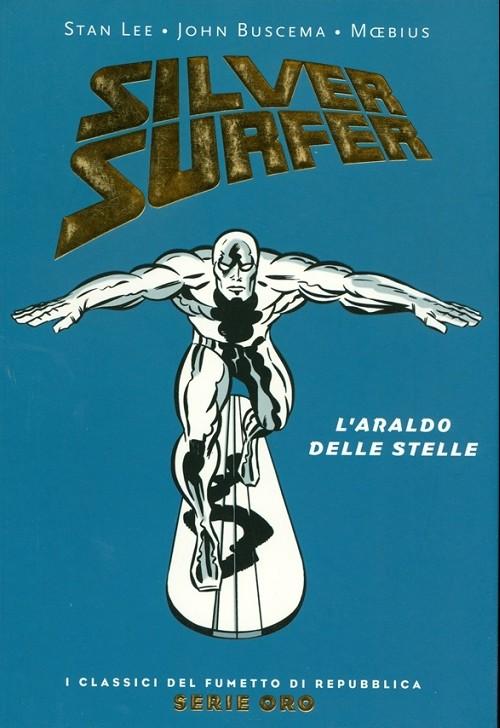 Couverture de Classici del Fumetto di Repubblica (I) - Serie Oro -36- Silver surfer