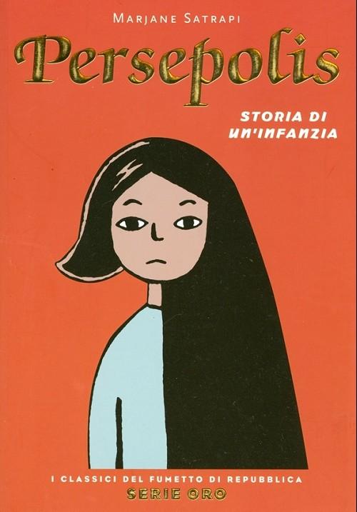 Couverture de Classici del Fumetto di Repubblica (I) - Serie Oro -37- Persepolis