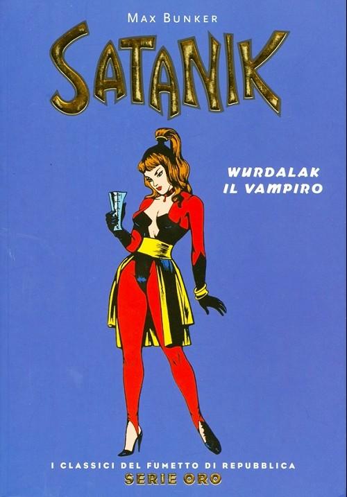 Couverture de Classici del Fumetto di Repubblica (I) - Serie Oro -38- Satanik
