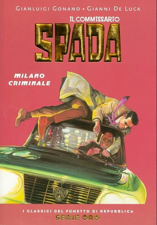 Couverture de Classici del Fumetto di Repubblica (I) - Serie Oro -40- Il commissario spada