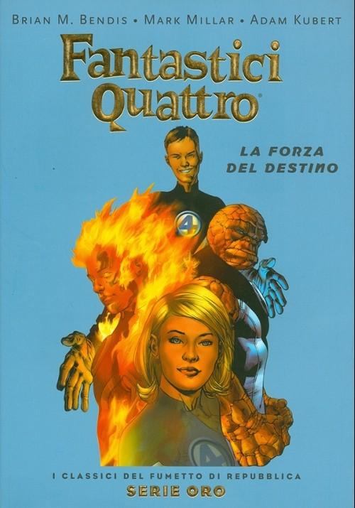 Couverture de Classici del Fumetto di Repubblica (I) - Serie Oro -42- Fantastici quattro