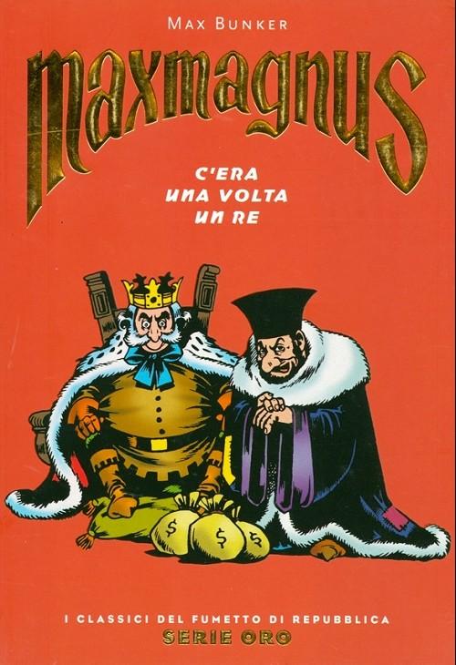 Couverture de Classici del Fumetto di Repubblica (I) - Serie Oro -51- Maxmagnus - C'era una volta un re