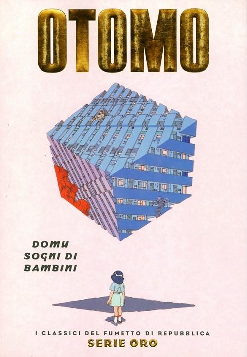 Couverture de Classici del Fumetto di Repubblica (I) - Serie Oro -52- Otomo - Domu, sogni di bambini