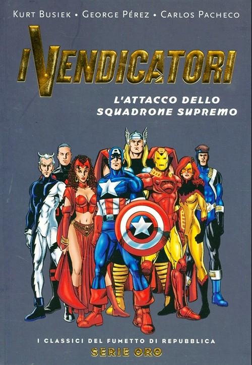 Couverture de Classici del Fumetto di Repubblica (I) - Serie Oro -53- I vendicatori - L'attacco dello squadrone supremo