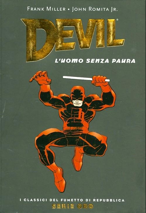 Couverture de Classici del Fumetto di Repubblica (I) - Serie Oro -61- Devil - L'uomo senza paura