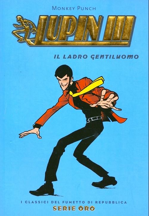 Couverture de Classici del Fumetto di Repubblica (I) - Serie Oro -63- Lupin III - Il ladro gentiluomo