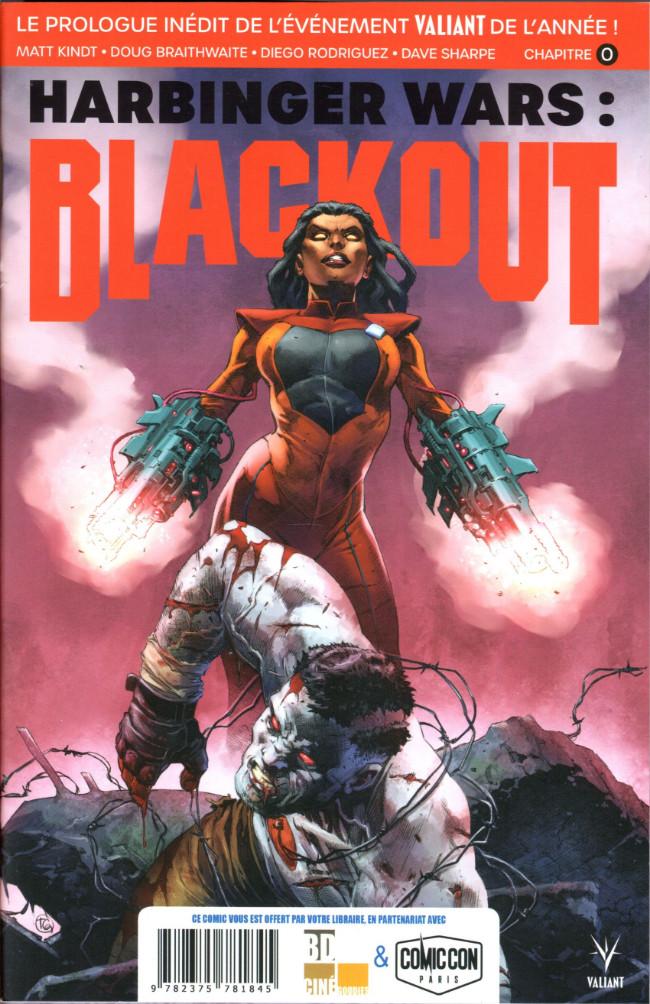 Couverture de Free Comic Book Day 2019 (France) - Harbinger Wars : Blackout / Kaijumax