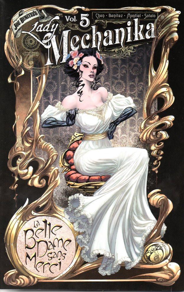Couverture de Lady Mechanika: La belle dame sans merci -INT- Volume 5