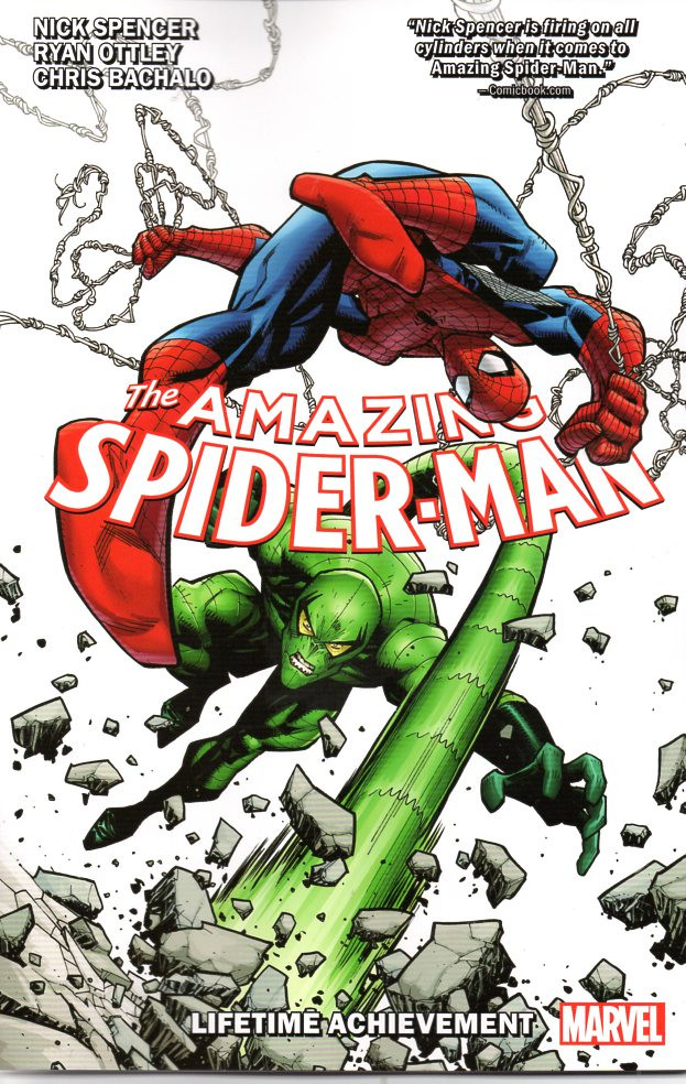 Couverture de Amazing Spider-Man (The) (2018) -INT03- Lifetime Achievement