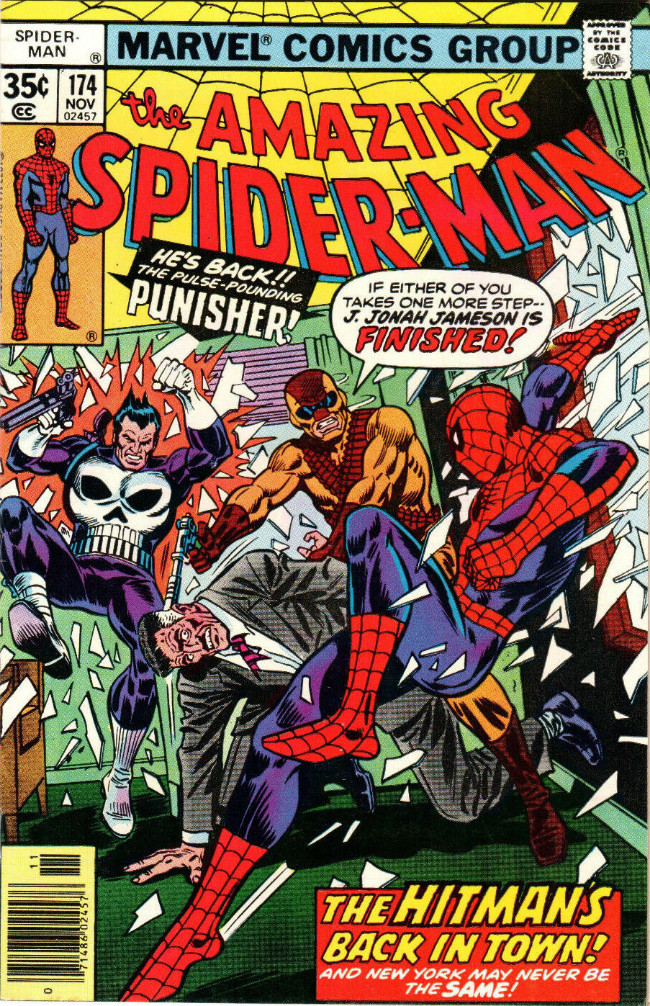Couverture de The amazing Spider-Man Vol.1 (Marvel comics - 1963) -174- The Hitman's Back in Town!