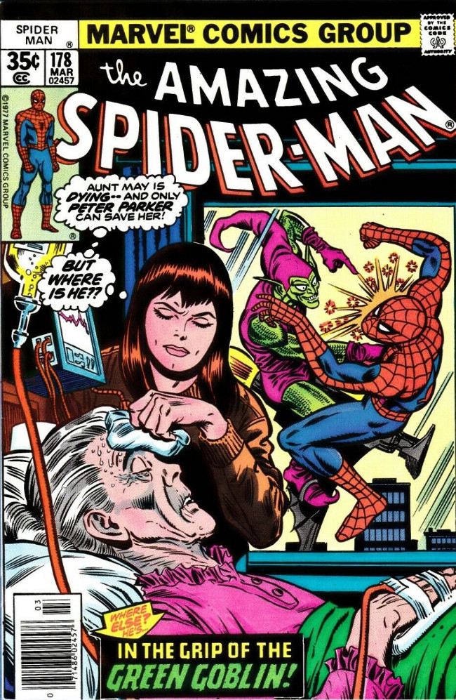 Couverture de The amazing Spider-Man Vol.1 (Marvel comics - 1963) -178- In the Grip of the Green Goblin!