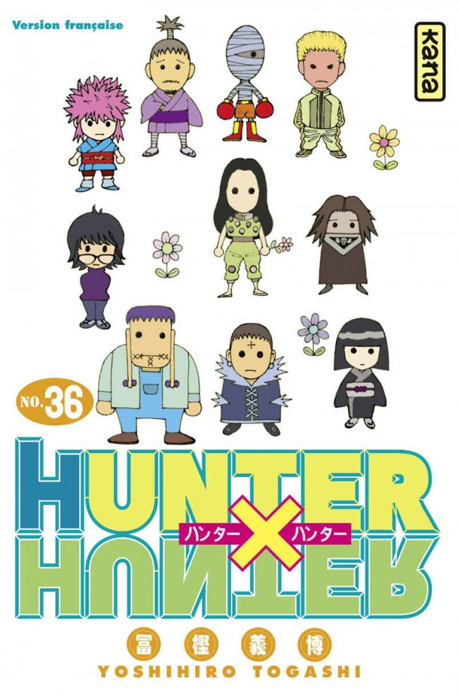 Couverture de Hunter X Hunter -36- Tome 36