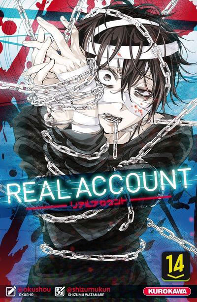Couverture de Real Account -14- Tome 14