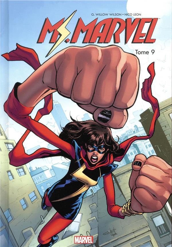 Couverture de Ms. Marvel -9- Tome 9