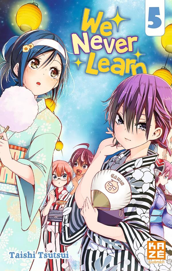 Couverture de We never learn -5- Tome 5