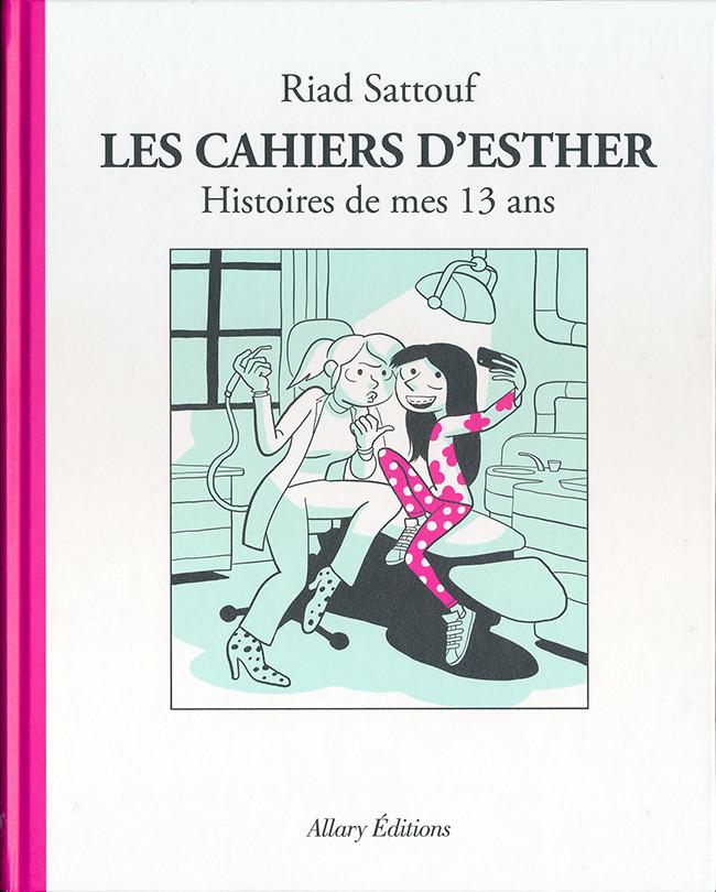 Couverture de Les cahiers d'Esther -4- Histoires de mes 13 ans