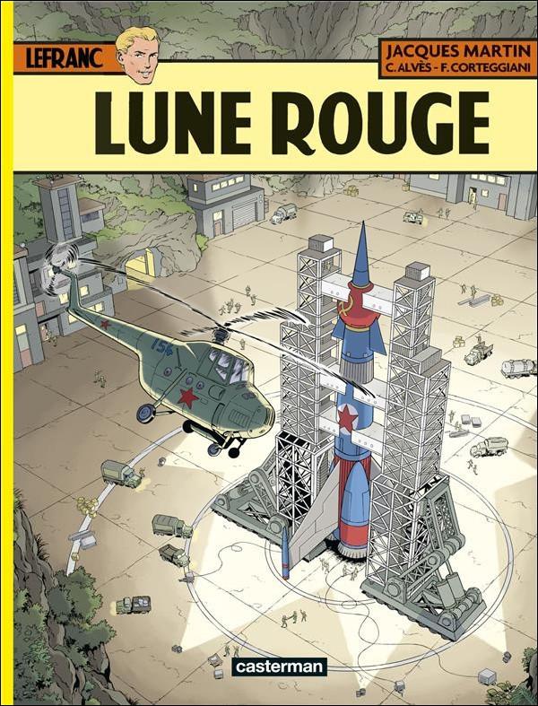 Couverture de Lefranc -30- Lune rouge