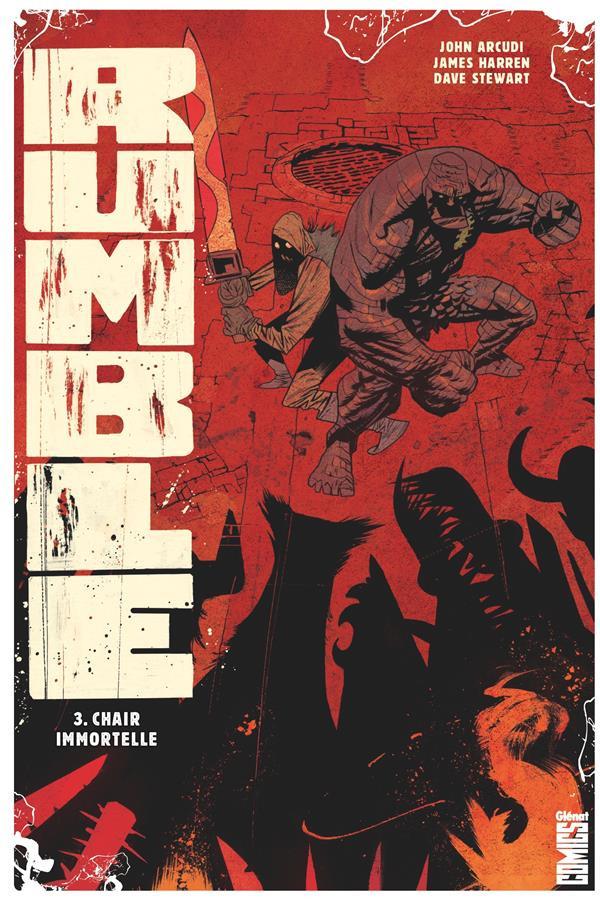 Couverture de Rumble -3- Étreinte de l'immortalité