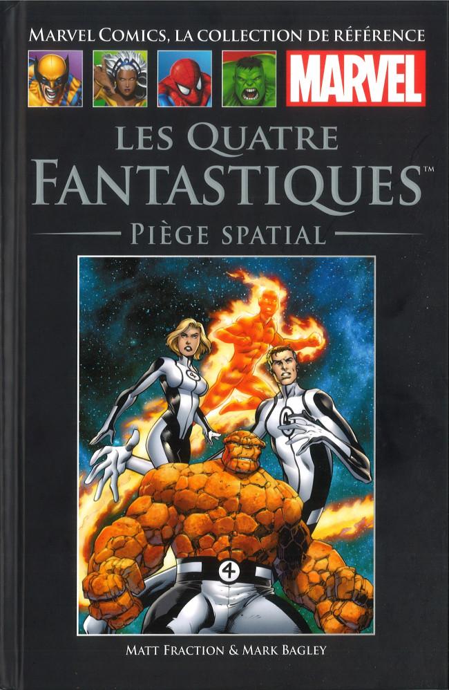 Couverture de Marvel Comics - La collection (Hachette) -13486- Les Quatre Fantastiques - Piège Spatial