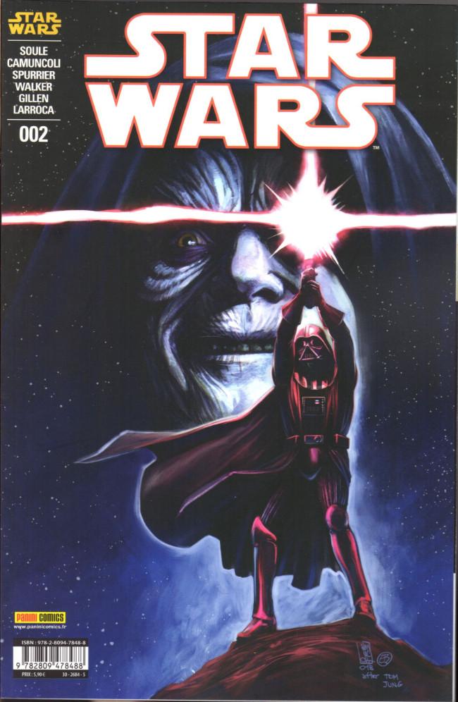 Couverture de Star Wars (Panini Comics - 2019) -2- La Mort de l'Espoir