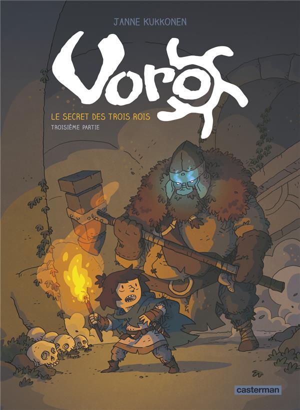 Couverture de Voro -3- Le secret des trois rois - Troisième partie