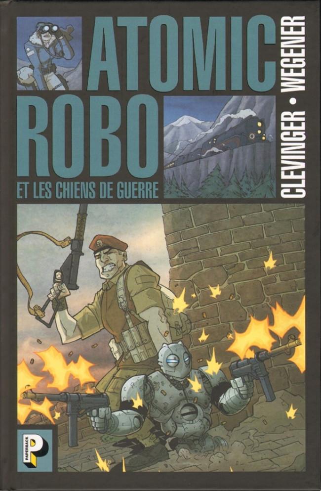 Couverture de Atomic Robo -2- Les chiens de guerre