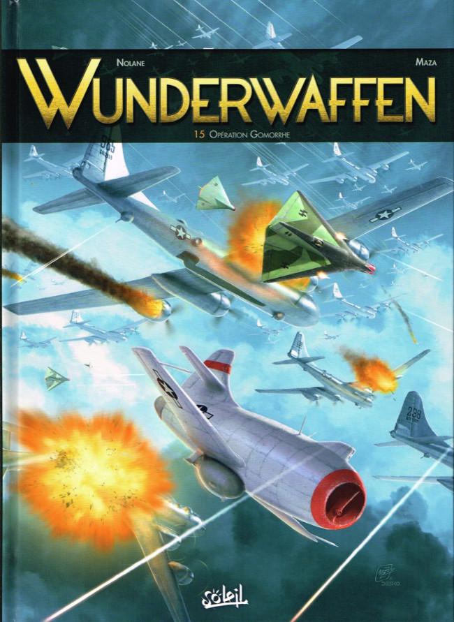 Couverture de Wunderwaffen -15- Operation Gomorrhe
