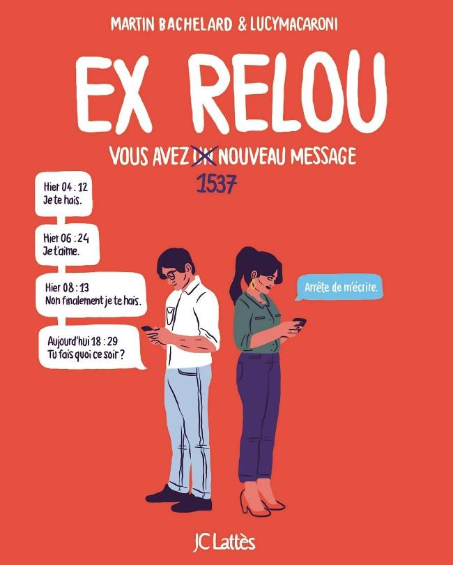 Couverture de Ex relou - Vous avez un nouveau message