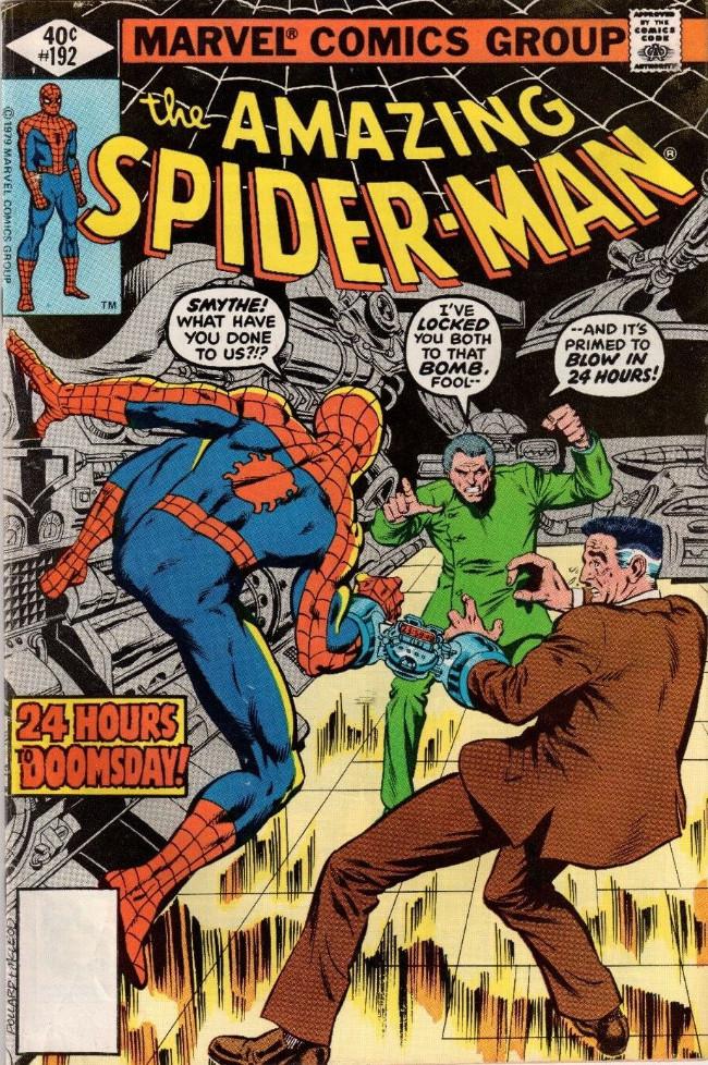 Couverture de The amazing Spider-Man Vol.1 (Marvel comics - 1963) -192- 24 Hours to Doomsday!