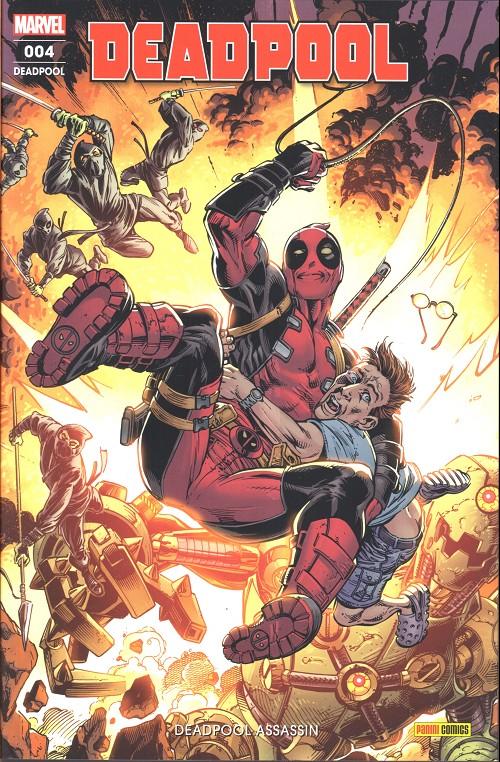 Couverture de Deadpool (Marvel France 6e série - 2019)  -4- Deadpool assassin
