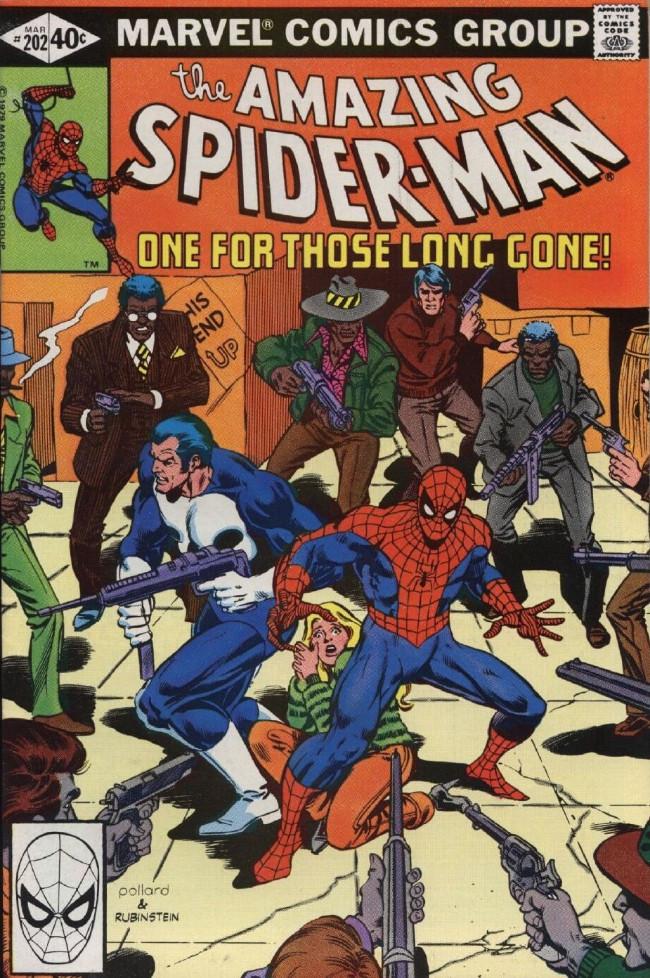 Couverture de The amazing Spider-Man Vol.1 (Marvel comics - 1963) -202- One for Those Long Gone!